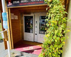 Automat mit Fleischerei Produkten 24/7 geöffnet